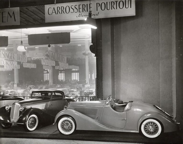 1935 Lancia Belna Eclipse i Roadster Pourtout