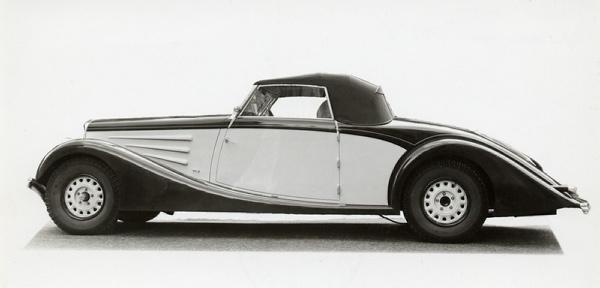 1935 Lancia Belna Cabriolet Pourtout