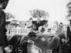 John Gordon w samochodzie Lancia Astura