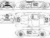 Przekrój samochodu Lancia D24