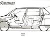 Lancia Megagamma, porównanie z Gamma Berlina