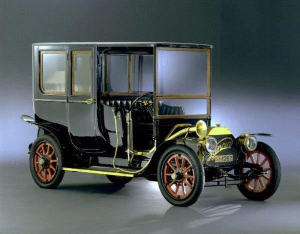 Lancia Alpha Limousine 1908 Fot. Fiat Auto