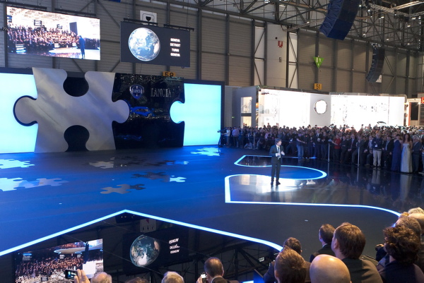 Genewa 2011 - prezentacja nowych modeli Lancii