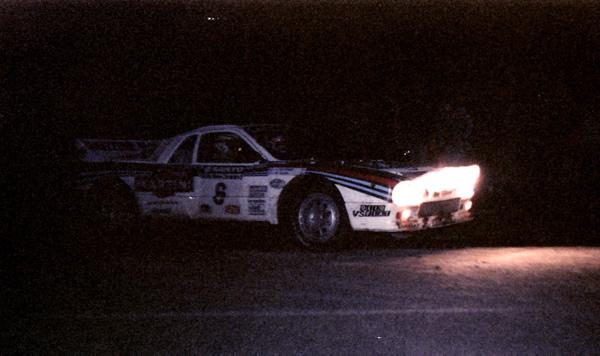 Markku Alen w Lancii Rally 037