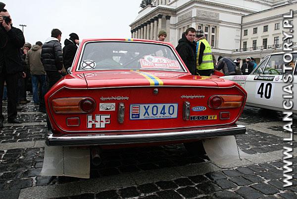 Lancia Fulvia Coupe HF 1600 1971 Louis Priano / Guy Pouzol (France)