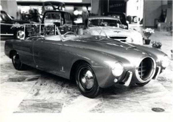 Na salonie w Turynie 1952 www.pininfarina.it
