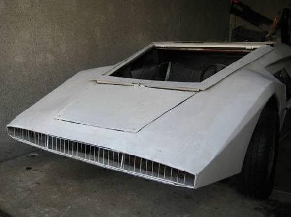 Lancia Stratos Zero replika