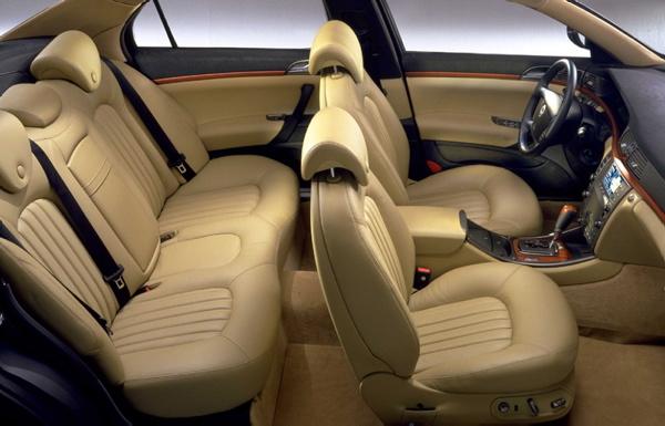 Wnętrze Lancia Thesis