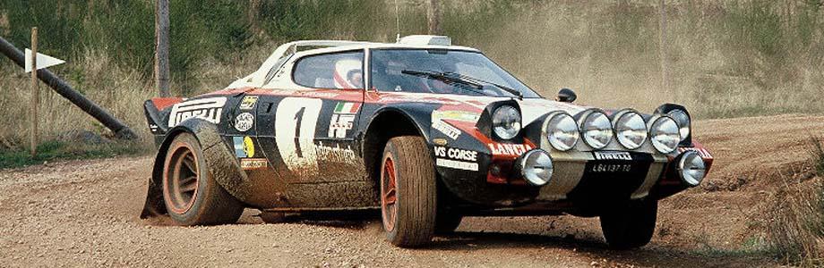 Lancia Stratos – królowa rajdów