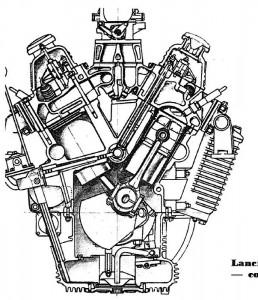 Przekrój poprzeczny silnika