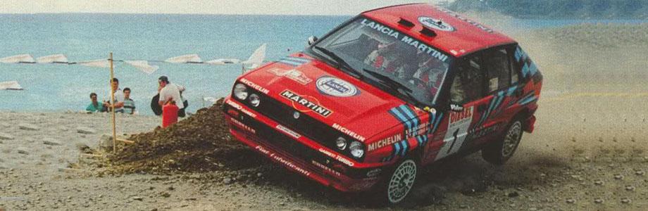 Miki Biasion i Lancia Delta Integrale