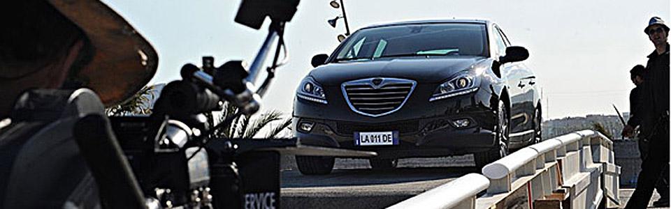 Nowa Lancia Delta na planie filmowym