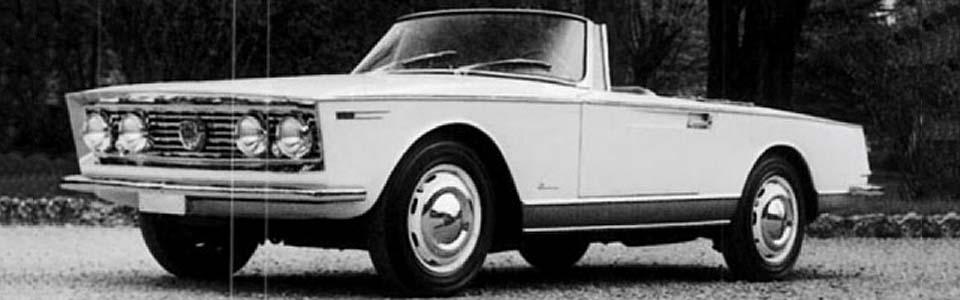 1962 Lancia Flaminia Spider Amalfi