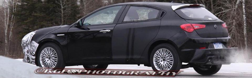 Szpiegowskie zdjęcia nowego modelu Lancia Delta lub Flavia