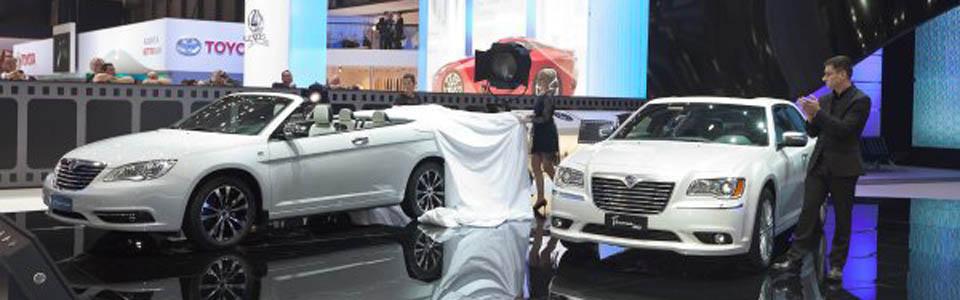 Lancia Flavia i Thema na salonie w Genewie