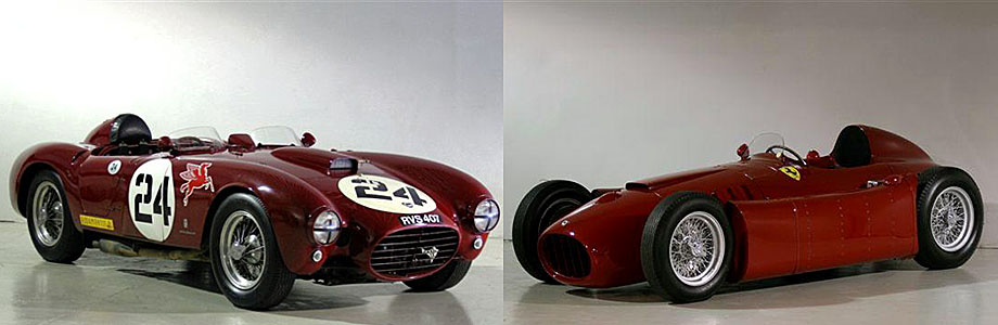 Lancia D24 i Lancia D50