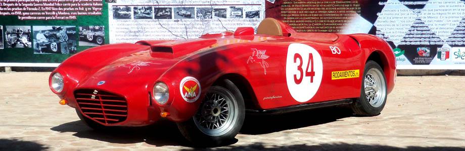 Lancia D24 w 59 rocznice śmierci Felice Bonetto