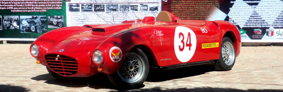 Lancia D24 Replika Felice Bonetto