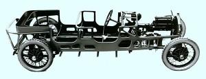 Lancia Lambda podwozie