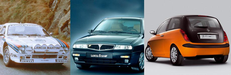 Lancia 037, Lancia Delta, Lancia Ypsilon