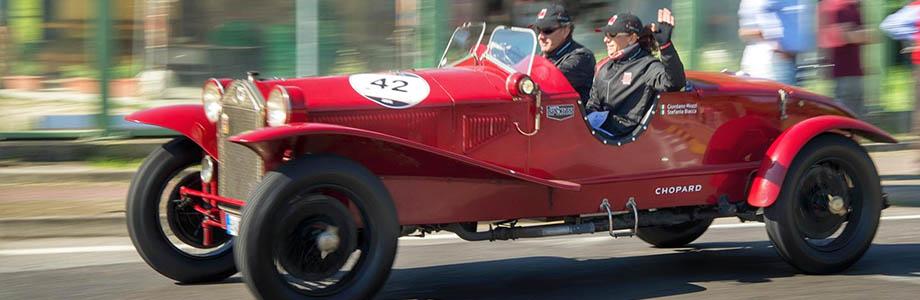 Lancia wygrywa Mille Miglia 2014