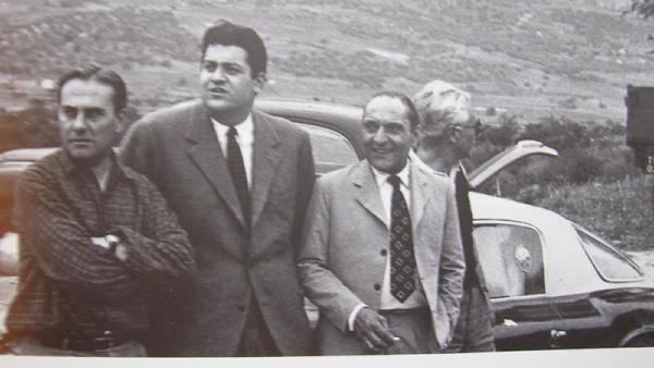 Giovani Bracco, Gianni Lancia, Felice Bonetto i Piero Taruffi